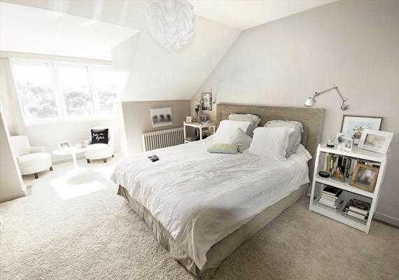 Furniture and interior design bedroom